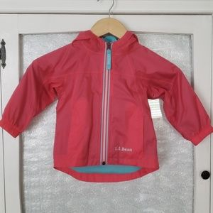L.L. Bean Kids Discovery Outdoor Rain Jacket